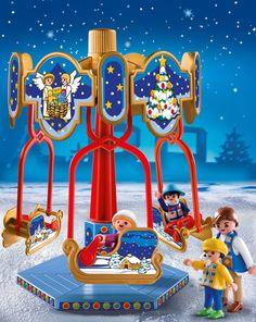 Playmobil 4888 - Navidad: carrusel: Amazon.es: Juguetes y juegos