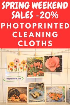 Photos printed on Swedish Dish cloths - Unique And Beautiful Design Swedish Dishes, Cleaning Cloths, Nifty Crafts, Natural Cleaning Products, Opportunity, Sunday, Plastic, Lettering, Free Shipping