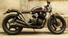 CRD Honda CB750 Cafe Racer 1 • TheCoolist - The Modern Design Lifestyle Magazine