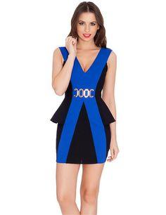 New design ruffles peplum dress Fashion Elegant ladies' office dresses sexy club dress 2016 new hot sale women dress
