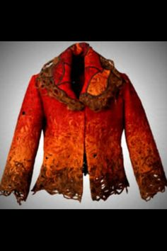 Candiss Cole Jacket-Love this color for autumn!