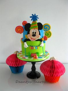 Mickey's Birthday - Cake by Daantje