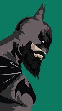 #bearded #batman is a funny #comics wallpaper for HD resolution smartphones
