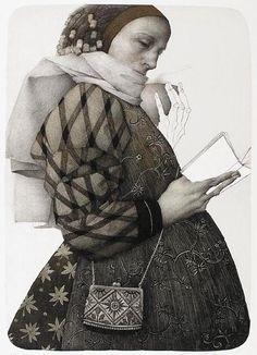 Marina Richterova  - Haiku - lithograph