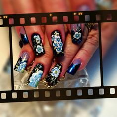 A new movie in town! Nails Magazine, New Movies, The Incredibles, Nail Art, Painting, Image, Beauty, Painting Art, Cosmetology