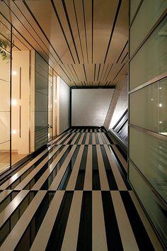 Suntory Museum of Art (2007) by Kengo Kuma, Roppongi, Tokyo