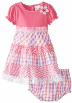 Youngland Baby Girls Infant Embroidered Special Occasion Dress Price