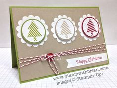 More Merry Messages, Stampin' Up!, Brian King, PCCCS#63