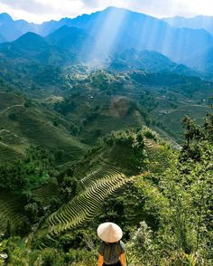 Stamp #635 - Vietnam : Trekking Rice Fields in #Vietnam  If you go to Sapa you can do loads of amazing treks and day hikes. We didn't feel like getting a guide (or map) as we wanted to explore it by ourselves. We had such a great time exploring the rice fields and getting lost in the right direction.  Thank you @chaptertravel for leaving your #ShareYourStamp!!  For more awesome #travel and #wanderlust tips and #adventure download the Stamp Travel #App Today. The link is in our bio…