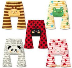 d7ea3ef04f 2016 PP pants Cute Boy Girl Baby Summer cartoon Panda pattern Casual Pants  High Waist Baby