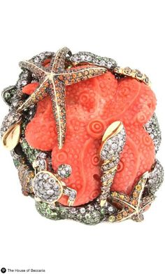 ~Wendy Yue Coral Sea Ring | The House of Beccaria