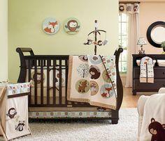 Forest Friends crib set
