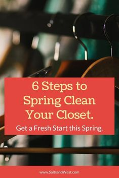 6 Steps to Spring Clean Your Closet. Enjoy the process of breaking down your closet and adding some new pieces that will work better for you with this simple guide. Downsizing and streamlining your closet can make getting great outfits together soooo much easier. Be sure to check out our bamboo clothing classic pieces to add in once you are done! Personal Hygiene, Personal Care, Slim Hangers, Bamboo T Shirts, Where To Sell, Sustainable Textiles, Organizing Tips, Carbon Footprint, Spring Cleaning