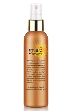 philosophy 'pure grace summer' shimmering dry body oil (Limited Edition)