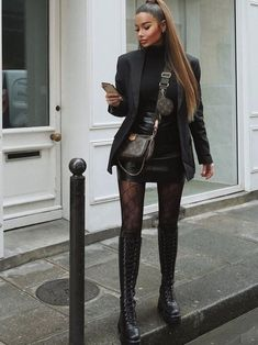 Baddie Outfits Casual, Casual Winter Outfits, Winter Fashion Outfits, Classy Outfits, Look Fashion, Chic Outfits, Autumn Winter Fashion, Trendy Outfits, Fall Outfits