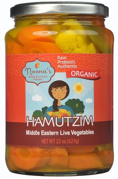 Middle Eastern Food: For centuries, fermented pickled vegetables have been an essential food for peoples of the Middle East, Iraq, and Israel. This unique delicacy energizes the senses with its extraordinary flavor and champagne-like tingle. We make our hamutzim the ancestral way using active cultures and anaerobic fermentation instead of chemicals and preservatives.  Enjoy our family recipe that has been passed down for generations with culture and pride.