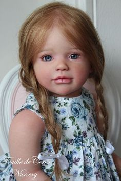 Feuille de Cerise Nursery - reborn toddler doll Sally by Regina swialkowski                                                                                                                                                      More