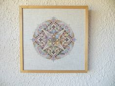 "Counted Cross-Stitch Pattern; Mandala - ""Musical Spring""; for DMC floss; Instant Download; 14,4"" diameter"