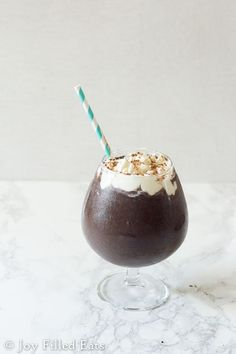 Frozen Hot Chocolate - Low Carb, Sugar Free, THM S