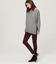Image of Hi-Side Split Sweater