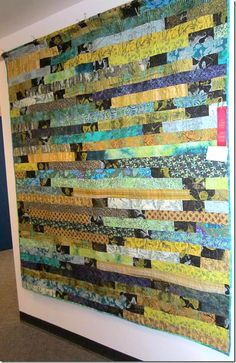 Quilts + Color: Potato Chip Quilt by Mary Koster. | Quilt: Jelly ... : potato chip quilt pattern - Adamdwight.com