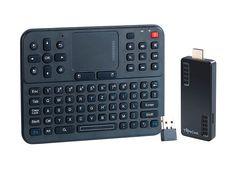 TVPeCee HDMI-Stick MMS-874.Dual-Core inkl. Funktastatur MFT-2620.TP