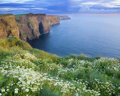 My most sacred place in all of Ireland...The Cliffs of Moher.  If you've been to IRE and didn't see this, find your Visa, pack your backs & contact your local travel agent. STAT!