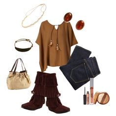 """Feathers and Fringe"" by rachael-phillips on Polyvore"