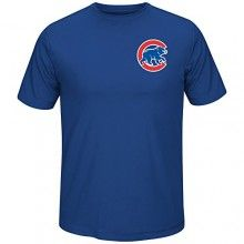 MLB Men's Team Wordmark Synthetic Cool Base T-Shirt