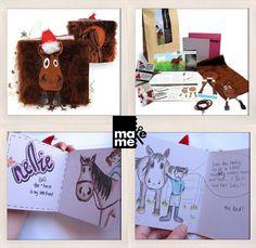 Fun 'n' Furry Horse Make me craft kit make by twospoonfulsofsugar, $15.00
