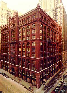 13. Rookery Building, 1886, Chicago, USA, Burnham & Root.