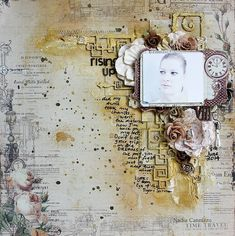 Nadia Cannizzo, mixed media layout , Prima,