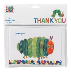 Very Hungry Caterpillar Thank You Cards