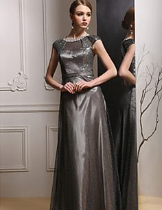 Formal Evening Dress Sheath/Column Jewel Floor-length Satin Dress. Get amazing discounts up to 70% Off at Light in the box using Mother's Day Coupon Codes.