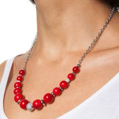 Beaded Necklace, Chain, Jewelry, Fashion, Pearl, Jewellery Making, Moda, Pearl Necklace, Jewels