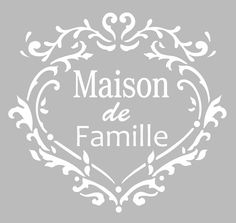 This repositionable adhesive stencil, of French manufacture in a . ♡ This repositionable French hand-made adhesive stencil in soft gray PVC material, resistant and washable, resists multiple uses, fits most. Baby Silhouette, Silhouette Portrait, Adhesive Stencils, Stencil Diy, Decoupage, Etiquette Vintage, Letter Stencils, Printable Paper, Vintage Images