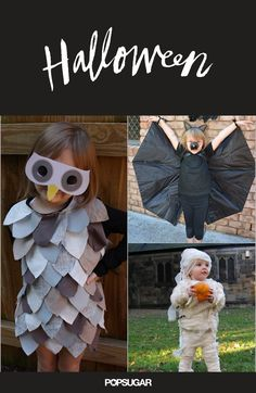 21 DIY Kids' Halloween Costumes Recycled From Things You Already Have Mom Costumes, Diy Halloween Costumes For Kids, Halloween Crafts, Happy Halloween, Costume Ideas, Recycled Costumes, Kids Carnival, Bird Costume, Diy For Kids
