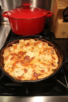 Julia Child's Scalloped Potatoes
