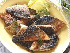 Smažená makrela Pork, Meat, Fitness, Fine Dining, Pork Roulade, Gymnastics, Pigs, Pork Chops, Rogue Fitness