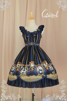 [★Coming soon★] CITANUL™ Le Roman de Renart High Waist Lolita JSK (★IN STOCK | LIMITED VERSION★), are you ready?