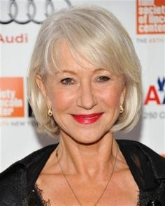 Short polished bobs are a good choice of hairstyles for women over 50. Many ofHollywood'sbiggest actresses choose this hairstyle.