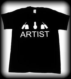 Nail Tech Gifft camiseta del técnico de uñas camiseta de