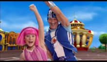 LazyTown - cute Icelandic tv show for kids