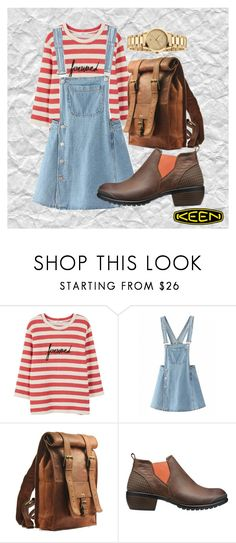 """""""Grungy Keen"""" by beasol on Polyvore featuring MANGO, Keen Footwear, Gucci and keen"""