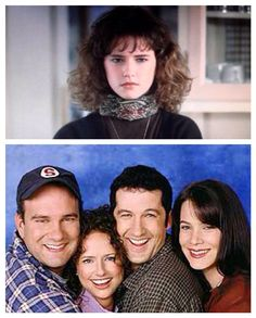"Then and now: The moody teenager Tia from ""Uncle Buck"" was the sensible wife Kim on ""Yes Dear?"" #JeanLouisaKelly"