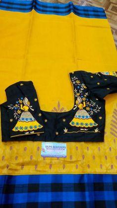 Best Blouse Designs, Saree Blouse Neck Designs, Choli Designs, Kurta Designs Women, Dress Neck Designs, Bridal Blouse Designs, Blouse Patterns, Embroidery Suits Design, Embroidery Blouses