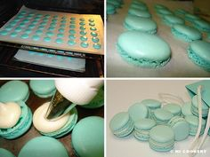 How to make Tiffany Macarons