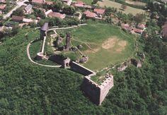 Nógrád vára légifotón Homeland, Medieval, Dolores Park, Castles, Country, Architecture, Travel, Hungary, Self