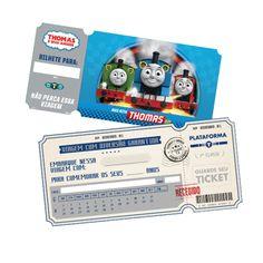 Convite Thomas e Amigos c/ 08 unidades