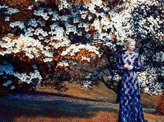 Katrin Thormann for Harper's Bazaar UK September 2014 | The Fashionography